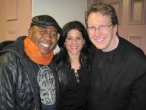 Tom with Ben Vereen and Karla Harris