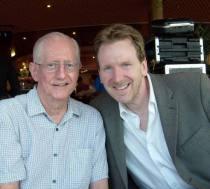 Tom with Eddie Higgins