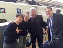 Tom in Tokyo with Dave Weckl, Makoto Ozone and Gary Meek